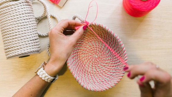 Best DIY gifts: Woven Rope Basket Making Kit