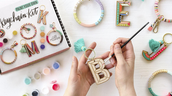 Best DIY gifts: DIY Keychain Painting Kit