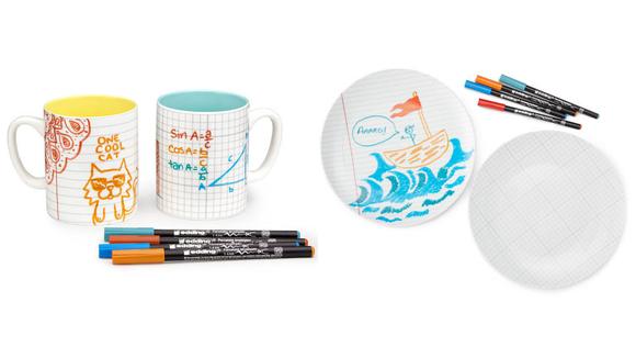 Best DIY gifts: DIY Doodle Mugs