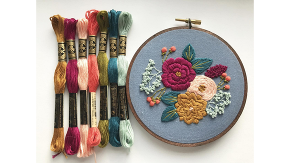 Best DIY gifts: Hand Embroidery Kit