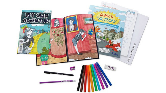 Best DIY gifts: Create Your Own Comic Book Kit