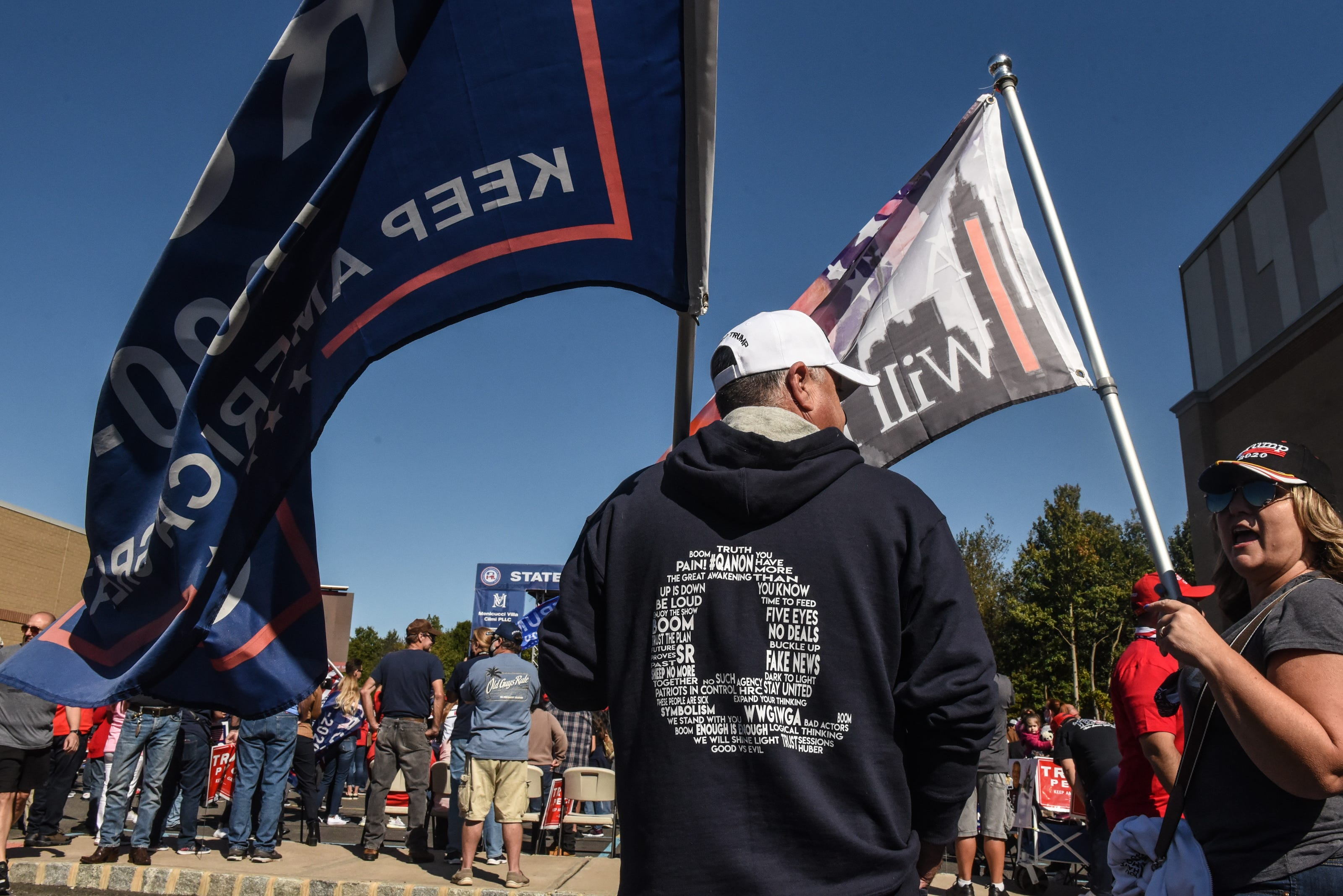 Were QAnon supporters a force behind Trump's 'red wave' in 2020 election?