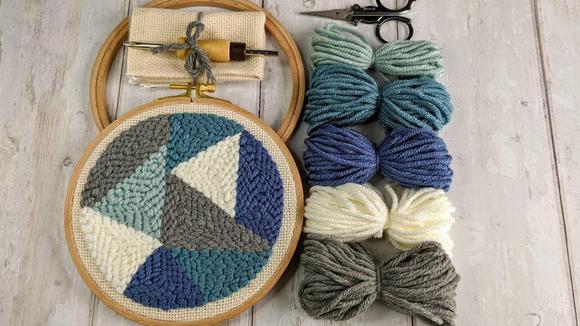 Best DIY gifts: Beginner Punch Needle Kit