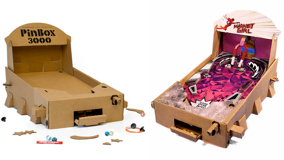 Best DIY gifts: Build Your Own Pinball Game