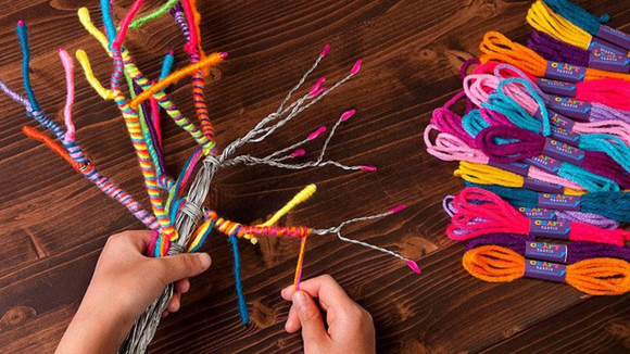 Best DIY gifts: Yarn Tree Kit