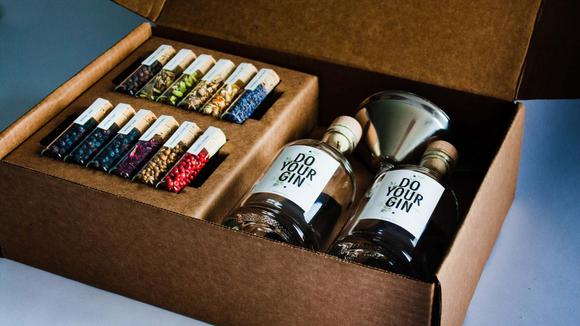 Best DIY gifts: Gin Making Kit