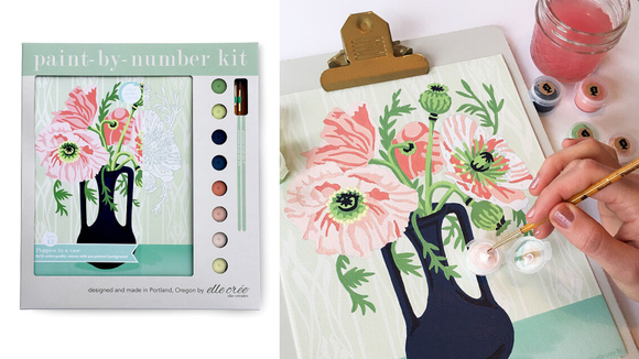 Best DIY gifts: Springtime Paint-by-Number Kit