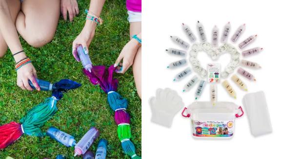 Best DIY gifts: Tulip Tie Dye Party Kit