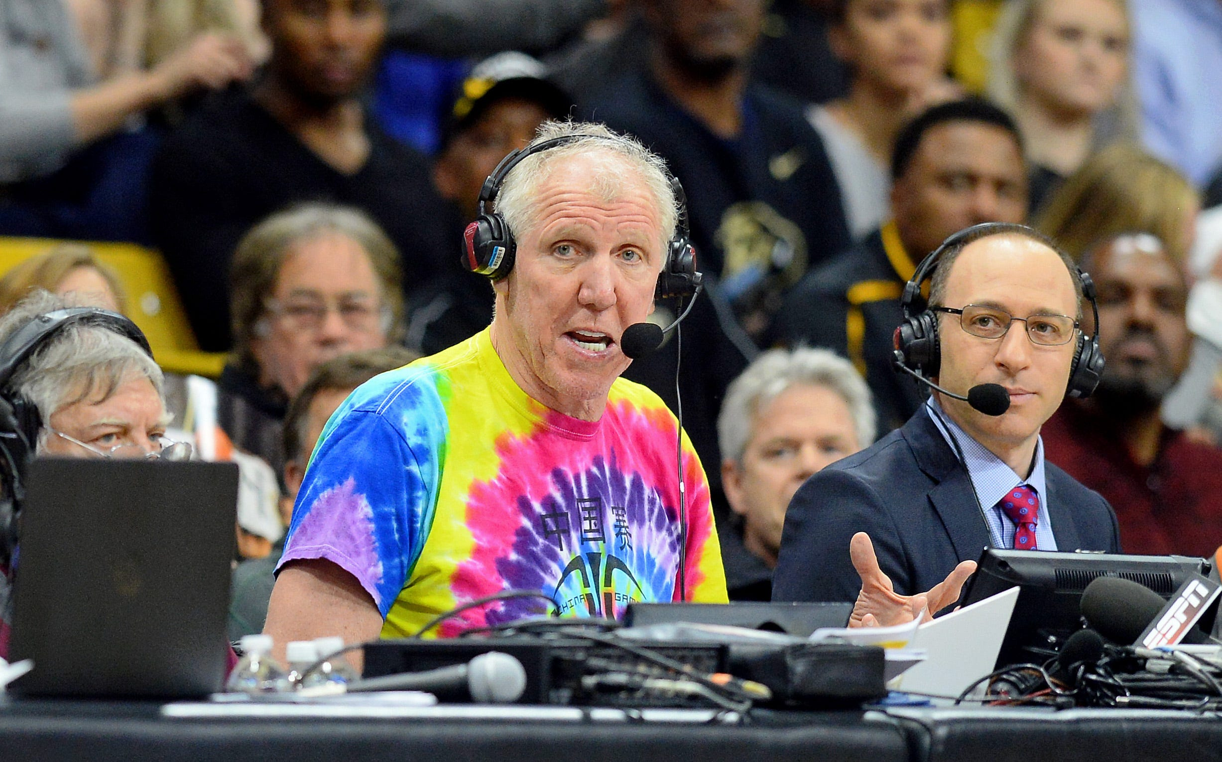 Bill Walton took some Celtics teammates to a Grateful Dead concert 35 years ago today