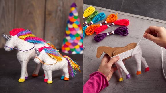 Best DIY gift: Yarn Unicorn Kit
