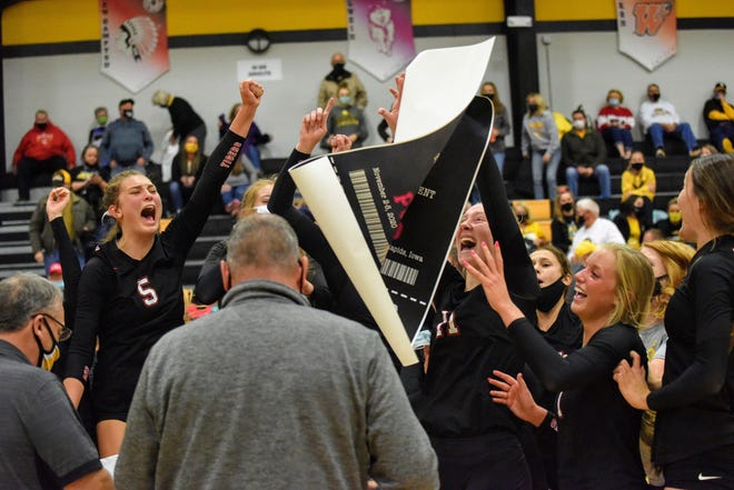 The 2020 season was a memorable ride for the Gilbert volleyball team. The Tigers won the Raccoon River Conference, reached state for the first time and ended up a semifinalist in Class 4A.