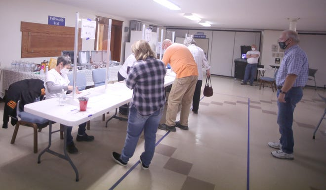 Boonville voters turned out early for the general election on Tuesday. Cooper County Clerk Sarah Herman said the county had 74.7 turnout, with 8,738 voters casting their ballots.