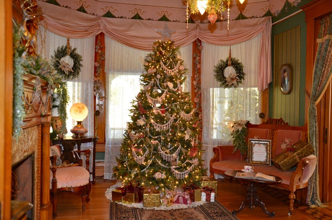 The holiday display at the Victorian House, 484 Wooster Road, Millersburg will be open through Dec. 31.
