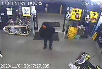 Police say this man robbed a Dollar General in Thomasville on Wednesday night.