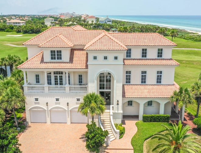 This oceanside home on Granada Drive in the Hammock sold recently for $2.5 million. It has five bedrooms and 6 1/2 baths in 6,487 square feet of living space. Built in 2006 on a golf course, it also has a three-car garage, a pool and spa, three balconies and a wine room. default