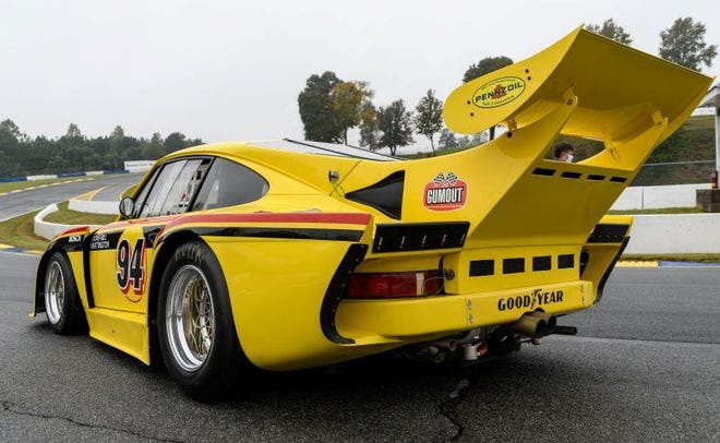 This Porsche 935 has not raced since 1979. It was recently restored and will compete in the Classic 24 at Daytona.