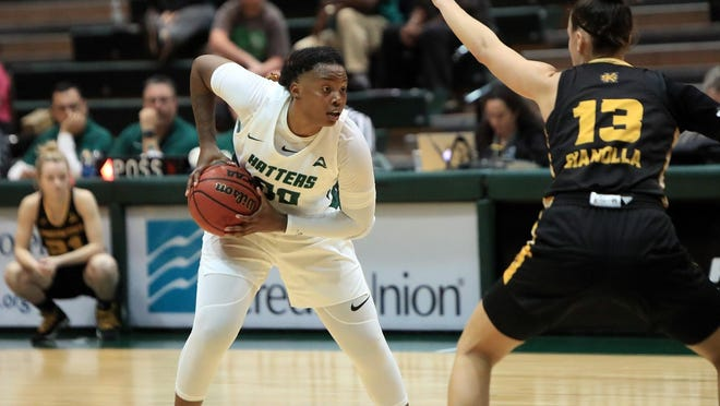 Day'Neshia Banks is Stetson's best player, but will need some help if the Hatters are to compete this season.