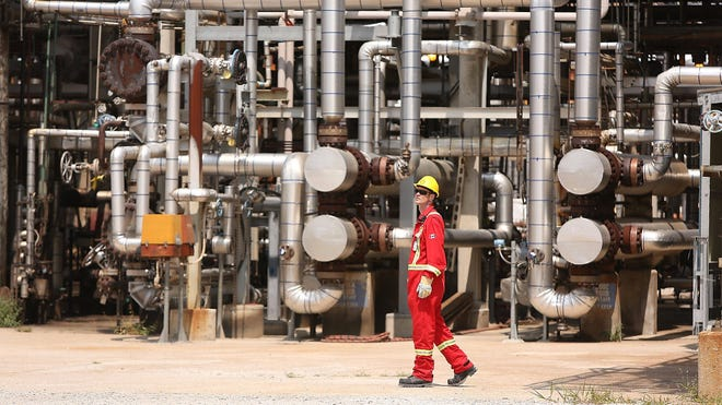 Shell announced it will close its Convent Refinery.