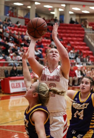Glen Rose's Jeana Douglas will be a force in the middle for the Lady Tigers.