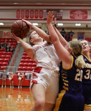 Glen Rose junior Hazel Hawkins is expected to contribute key minutes for the Lady Tigers.