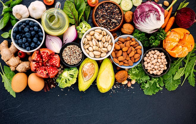 Consider how you can increase your intake of fiber sources such as fruits, vegetables, nuts, seeds, beans/lentils, and whole grains.  Think of more ways to slip higher fiber ingredients into your recipes, and add some of these fiber sources as part of your snacks.  Let's see if we can change the status of fiber from a nutrient of concern, to a nutrient of sufficiency!