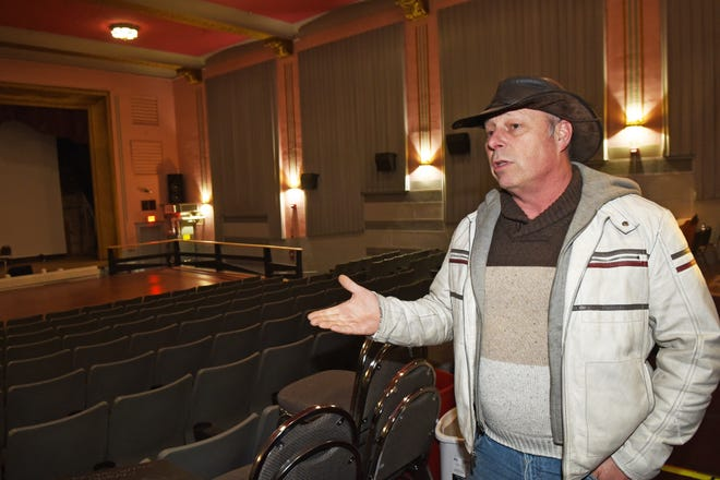 Dan Demers, owner of The Strand in Dover, is hoping to raise $100,000 before the year is out to keep the historic theater open. The pandemic has hit the theater hard financially as it has many performance venues.