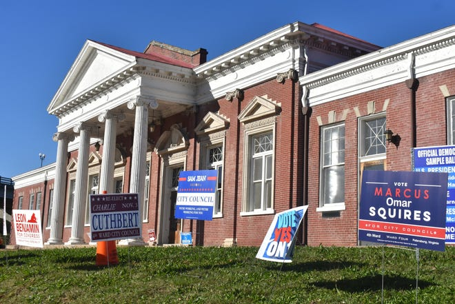 Union Train Station was the pre-pandemic city council meeting place of choice. It was also the voting site for Ward 4 residents in Petersburg on election day.