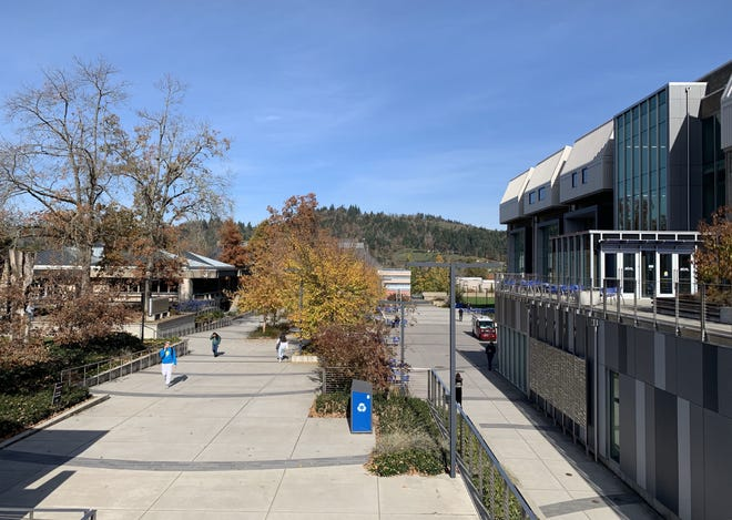 The Lane Community College campus.