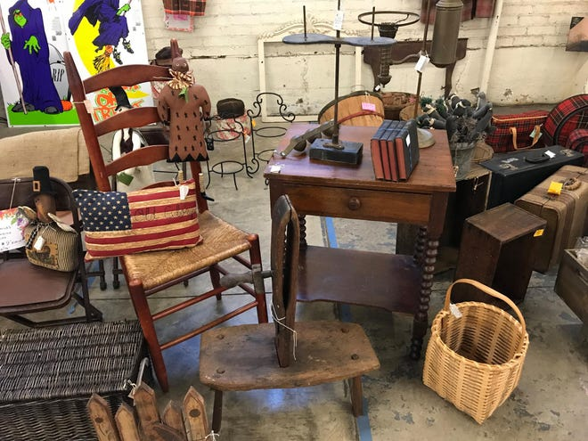 LAST SHOW OF 2020. A wide array of antiques and vintage collectibles from 100 dealers will be offered this weekend at Olde Stark Antique Faire at the Stark County Fairgrounds. Hours are 9 a.m. to 4 p.m. Saturday and 10 a.m. to 2 p.m. Sunday. Admission is $5, which children 12 and younger admitted free.