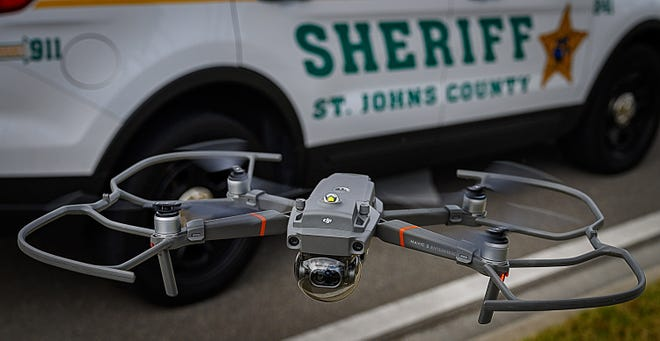 The St. Johns County Sheriff's Office uses drones to document crime scenes, find missing people and assisting with routine problems.