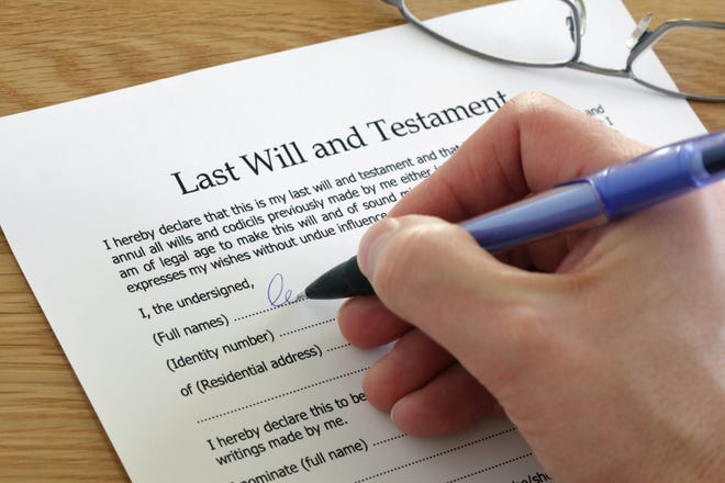 In general, a will prevails over just about everything else.