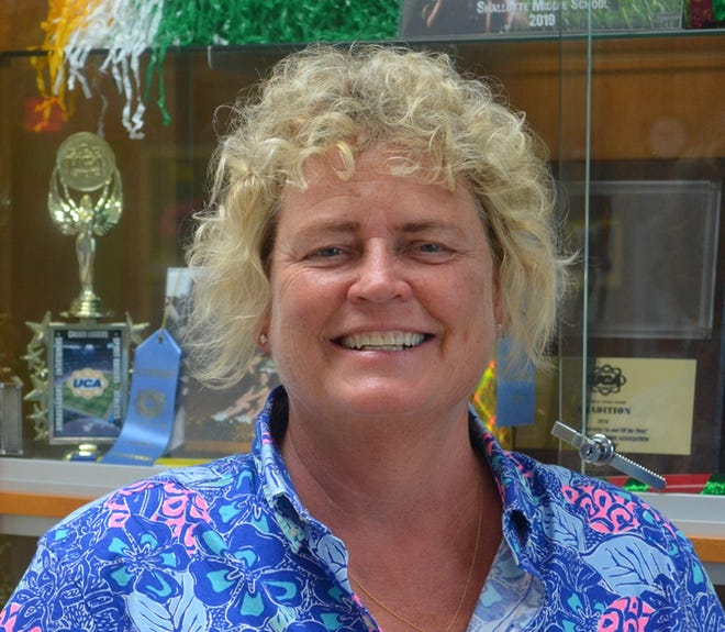 Holly Borden was honored by NC SHAPE with Middle School Physical Education Teacher of the Year Honors.