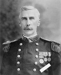 Navy Capt. Edwin A. Anderson received the Medal of Honor for action at Vera Cruz, Mexico, in 1914.