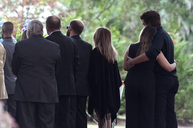 Carly Baron was laid to rest Thursday Nov. 5, 2020 during a public service at Oleander Memorial Gardens in Wilmington, N.C.