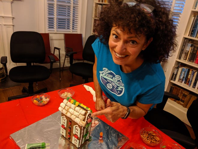 An Introduction to Gingerbread House Building Class will be offered at Craven Community College in partnership with New Bern Historical Society. The class will meet Saturday, Nov.14 at 10 a.m. at the Craven County Campus.The 1½ hour class will teach construction basics that will ensure that your house will stand up to the season. This is a demonstration class with a short exercise to get you started. You'll receive gingerbread and royal icing recipes and techniques. For more informationand registration, visithttps://cravencc.edu/aep/kitchen-cuisine/or call Megan Johnson at Craven Community College Adult Enrichment Program, 252-638-7273. This class will be taught byRita DeSanno, Historical Society volunteer and a retired Marine with 25 years of military food service experience, mostly as a baker.Covid precautions will be in effect; masks and social distancing are required. [CONTRIBUTED PHOTO]