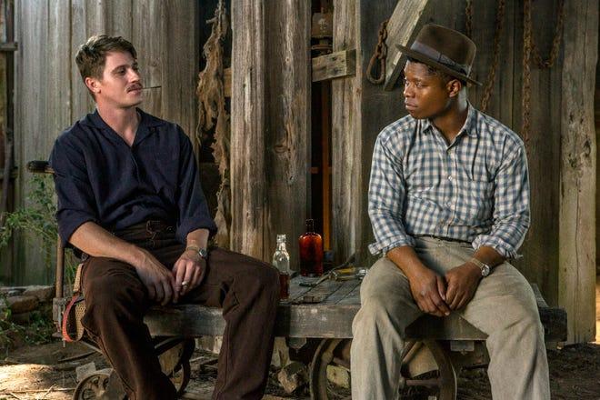"""Garrett Hedlund and Jason Mitchell in a scene from """"Mudbound."""""""