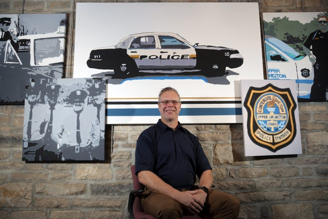 "Since becoming the Upper Arlington Police Department's first chaplain in February, Carl Schweisthal said he wants ""to be there for the well-being of police officers, their families and the community."""