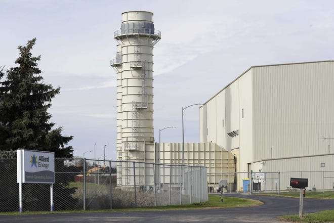 The Alliant Energy power plant at 200 Winnebago County CB is now part of Neenah after it was detached from the town of Neenah.