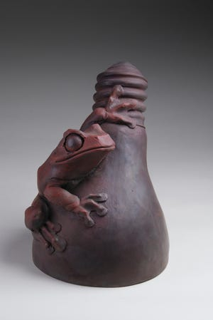 A sculpture by Todd Frahm.