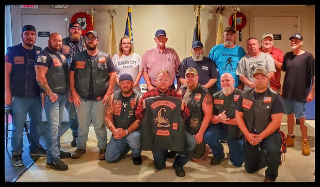 Desert Knights Of America Central Ohio Chapter members pictured at the Washington Court House VFW in Sept. 2020.