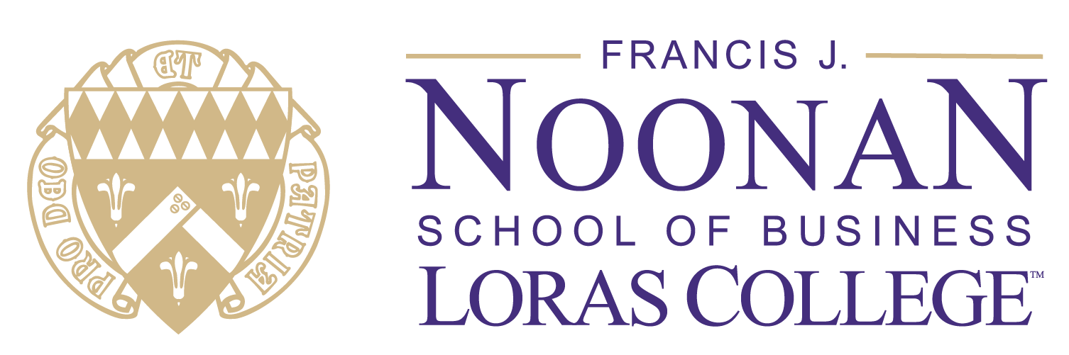 Loras College Noonan School of Business Logo