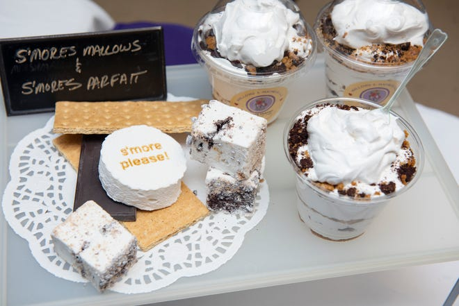 Smores Parfaits by Mallows and Madness