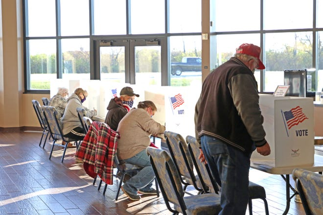 Lines at Victory Church, on Oak Harbor Road,  on election day were described as average and steady by polling election administration Lee Shaffer. More than 73% of registered Sandusky County voters cast ballots on Tuesday, up from the 2016 presidential election that saw 70.91% vote.