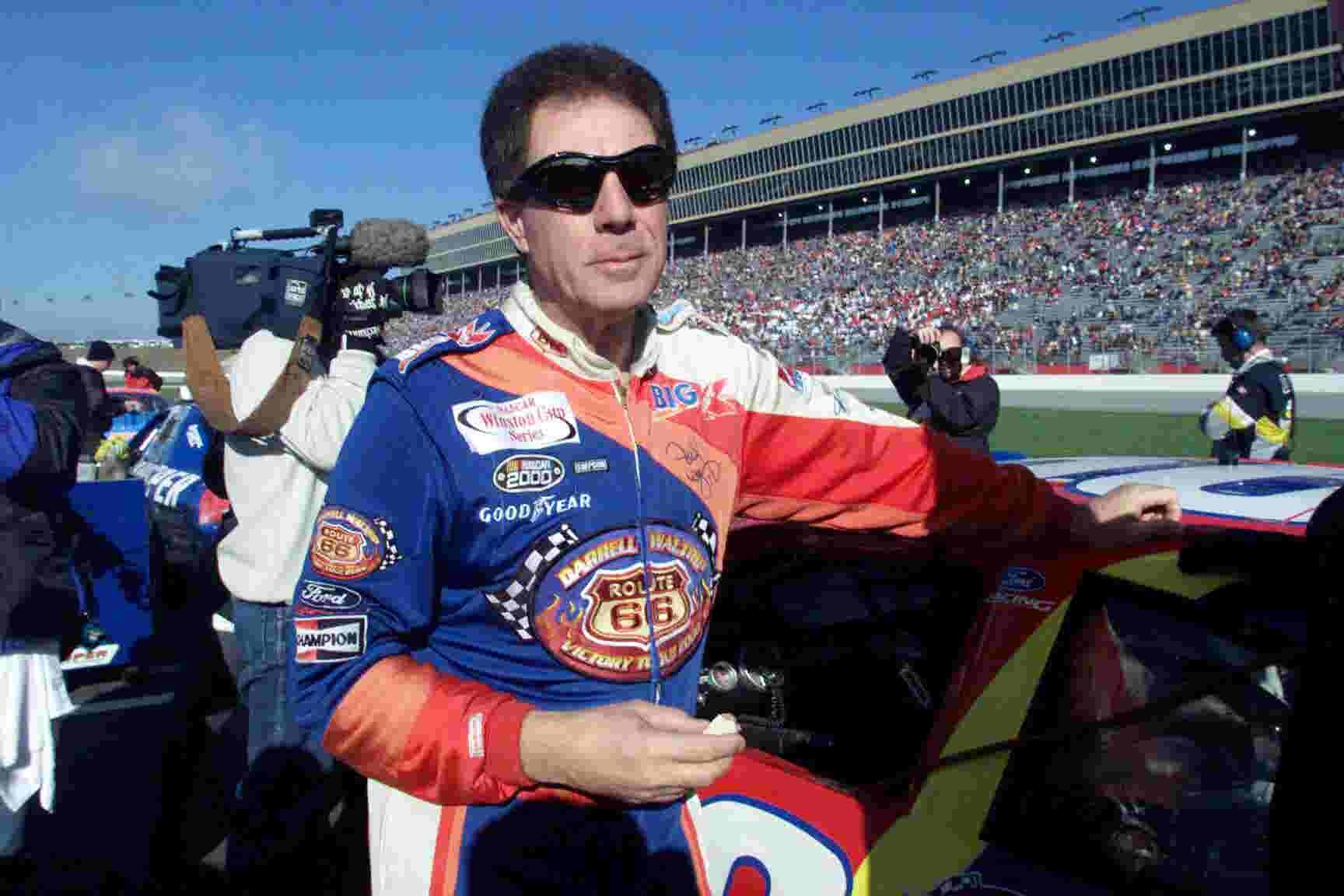 NASCAR Hall of Fame driver Darrell Waltrip on Nashville Superspeedway