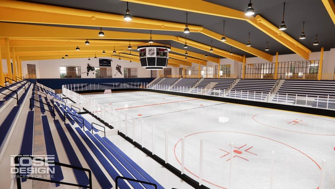 An ice rink would be part of the Franklin Sports Complex.