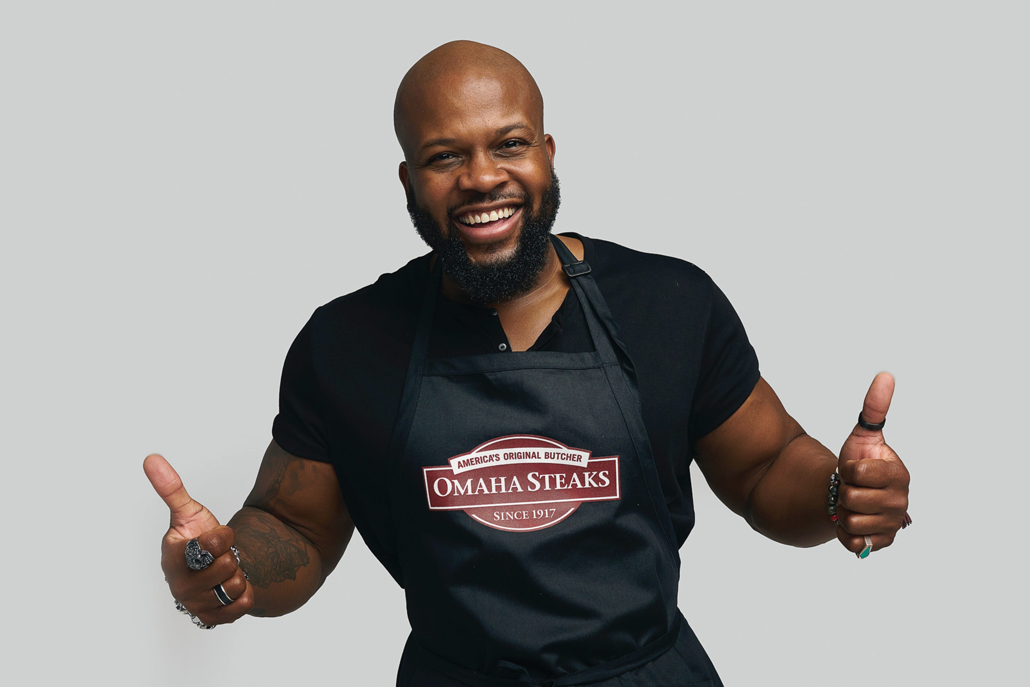 """Chef David Rose, originally of New Jersey, was named the executive chef of nationwide mail-order brand Omaha Steaks in October. """"Soul food is whatever you grew up on,"""" he says. """"You can be from Thailand, and whatever you eat that evokes emotions and memories, that is your soul food."""""""