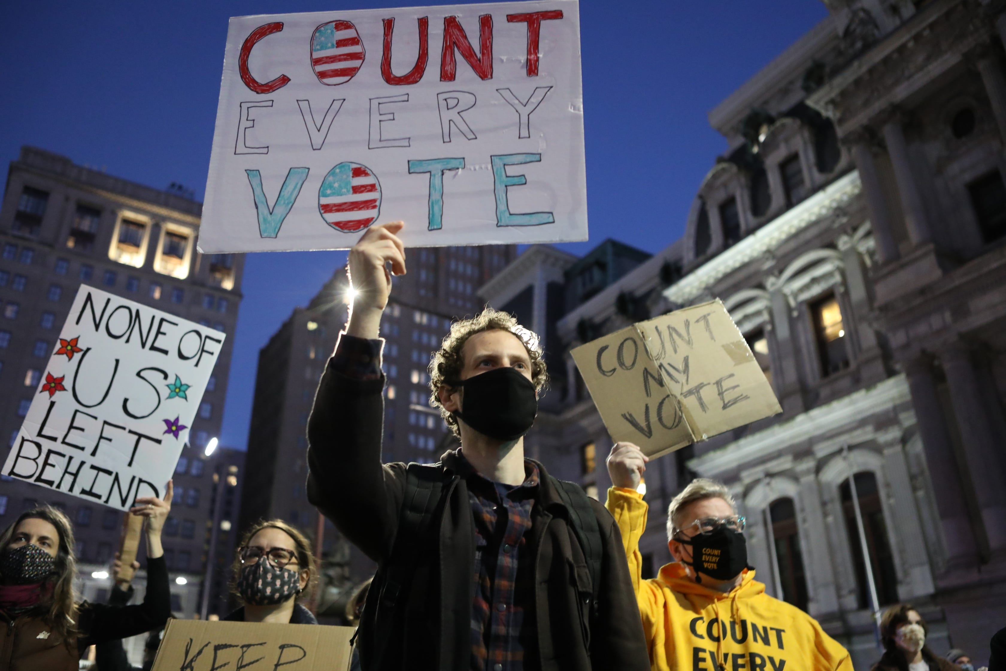 Election protests across the US: National Guard activated in Portland; Trump supporters gather in Phoenix, Las Vegas