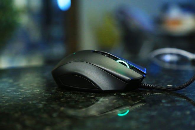 The Razer Naga Pro modular gaming mouse.
