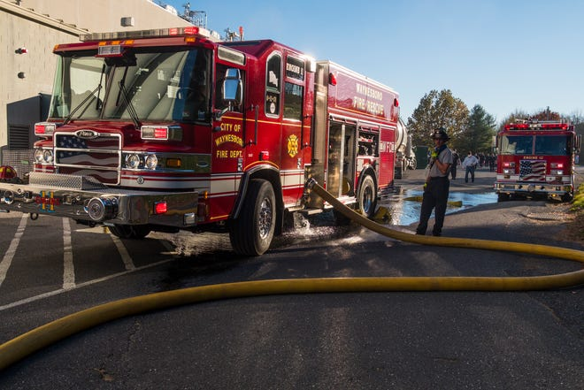 Waynesboro Fire Department responded to a commercial fire Wednesday, Nov. 4, 2020 at Berry Plastics.