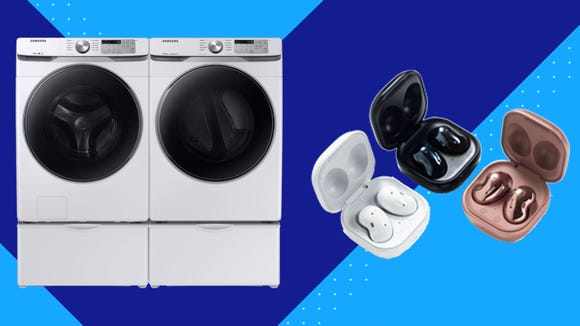 Samsung has already dropped prices on a variety of appliances, tech gadgets and more.